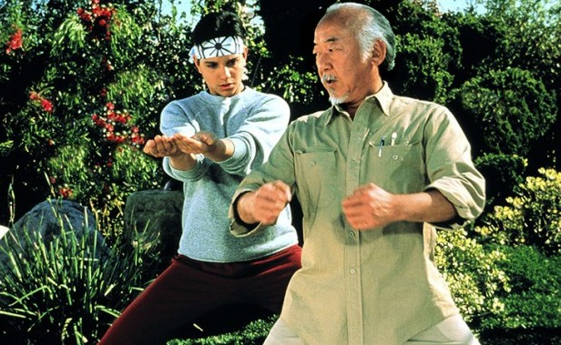 Apply meditation like the karate kid