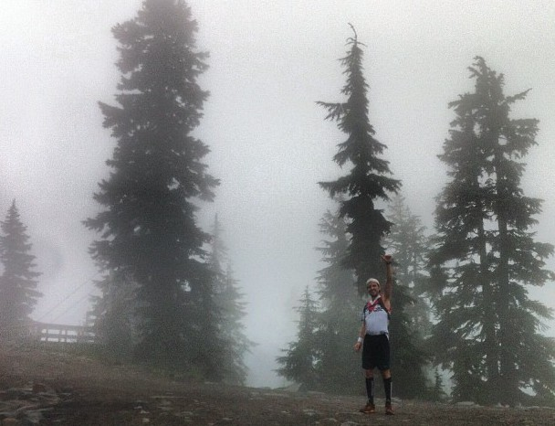 Ultramarathon at grouse mountain